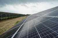 A solar power plant with a capacity of 16 MW was opened in Zhytomyr Region