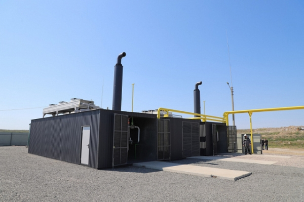 A 3 MW biogas plant has started operating in the main landfill in Odessa